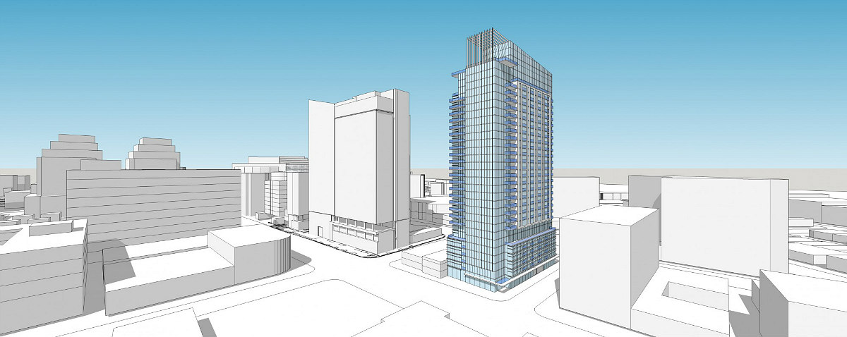 A Few New Looks for Bethesda's Tallest Residential Building: Figure 1