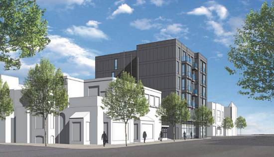 30 Apartments Atop Arts Space: The Plans for a U Street Parking Lot: Figure 2