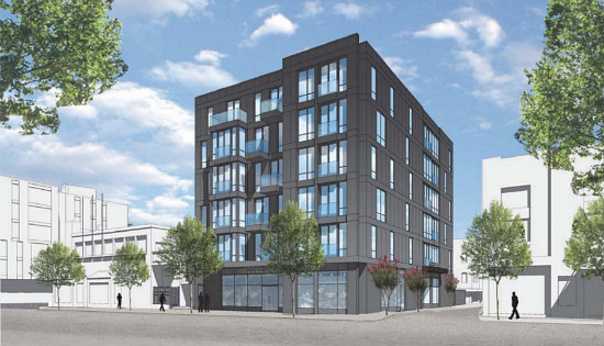 30 Apartments Atop Arts Space: The Plans for a U Street Parking Lot: Figure 1