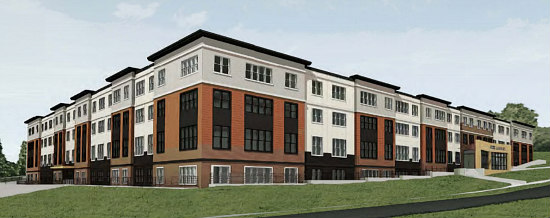 128 Affordable Apartments Proposed for Former Sanford Capital Complex: Figure 1