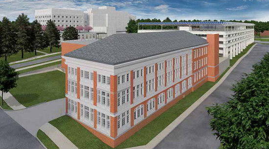 The Plans to Fit Children's National into the New Walter Reed: Figure 1