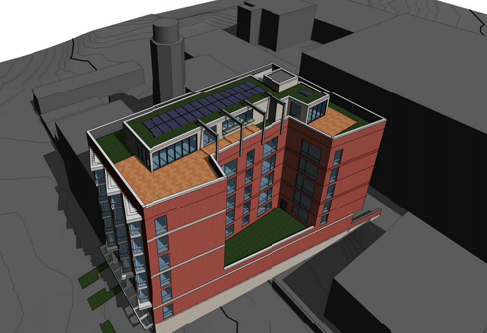 Plans Filed For 41-Unit Project at Dancing Crab Site in Tenleytown: Figure 1
