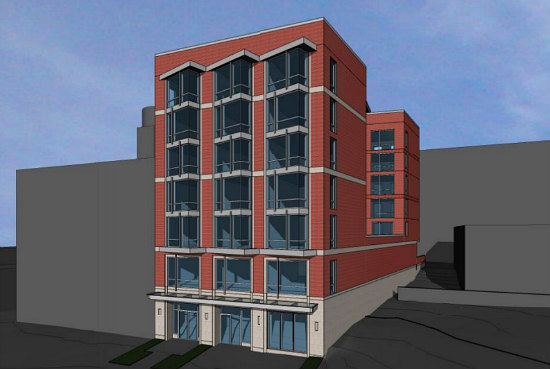 Plans Filed For 41-Unit Project at Dancing Crab Site in Tenleytown: Figure 2