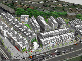 Restaurants, Retail and 185 Townhouses Proposed for Fort Totten