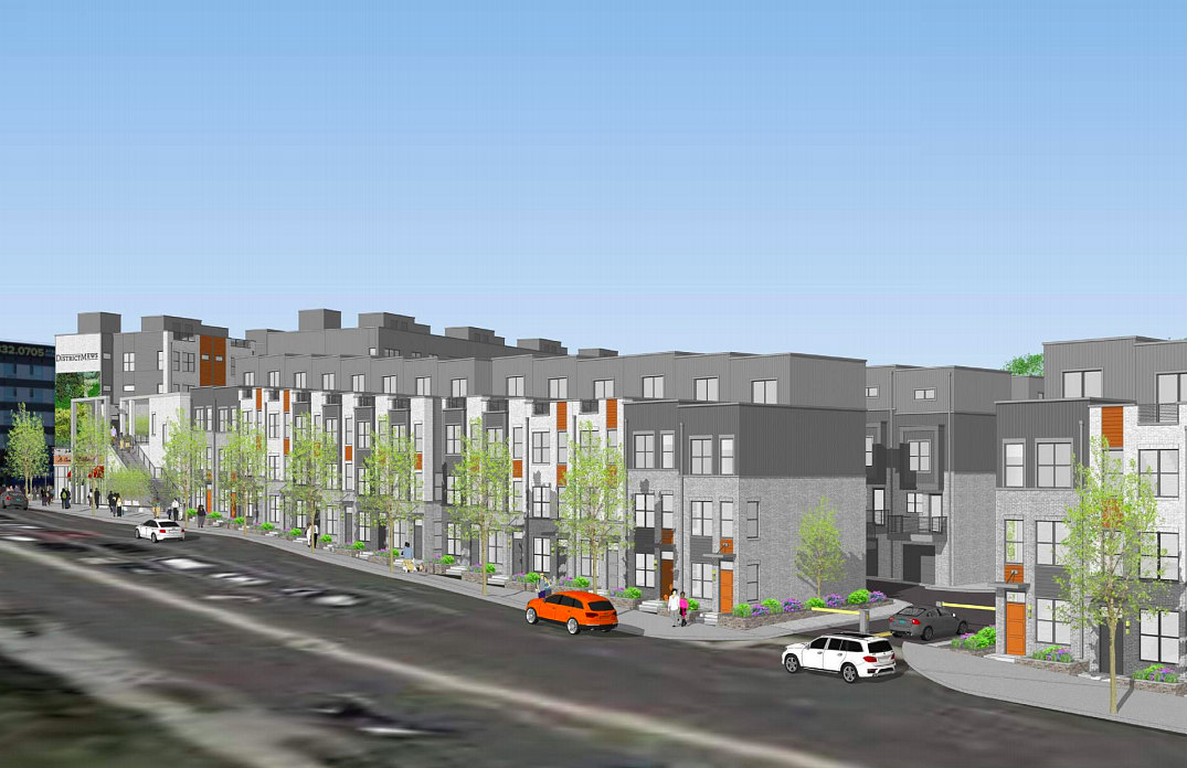 Restaurants, Retail and 185 Townhouses Proposed for Fort Totten: Figure 3