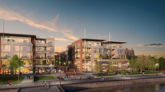 High-End Townhomes and Condominiums Come to Alexandria Waterfront: Figure 3