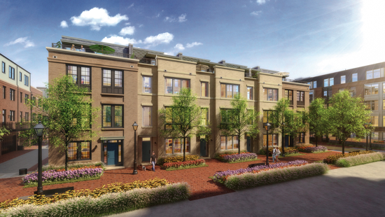 High-End Townhomes and Condominiums Come to Alexandria Waterfront: Figure 1