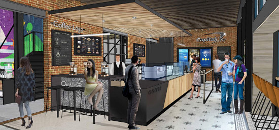 A Glimpse into Capital One's Café in the Center of Georgetown: Figure 2
