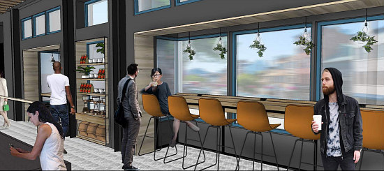 A Glimpse into Capital One's Café in the Center of Georgetown: Figure 1