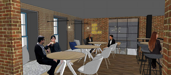 A Glimpse into Capital One's Café in the Center of Georgetown: Figure 9