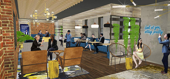 A Glimpse into Capital One's Café in the Center of Georgetown: Figure 10