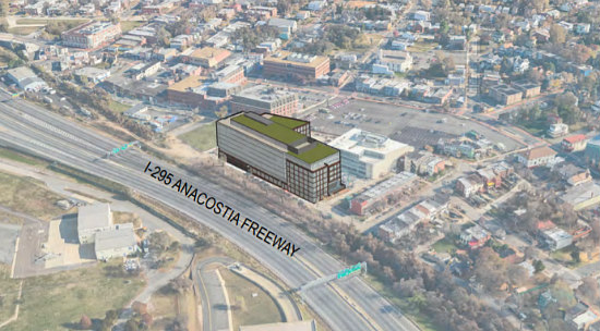 Plans Emerge for Additional Office Building at Anacostia's Reunion Square: Figure 1