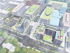 Community Center and Town Center: More Details Emerge for Waterfront Station in Southwest