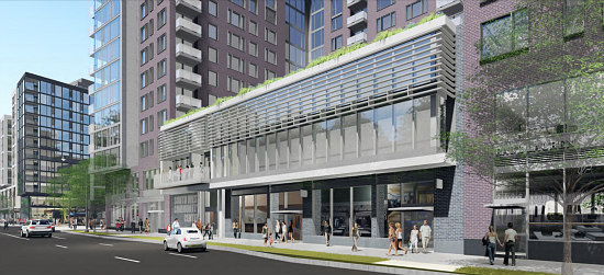 Community Center and Town Center: More Details Emerge for Waterfront Station in Southwest: Figure 7