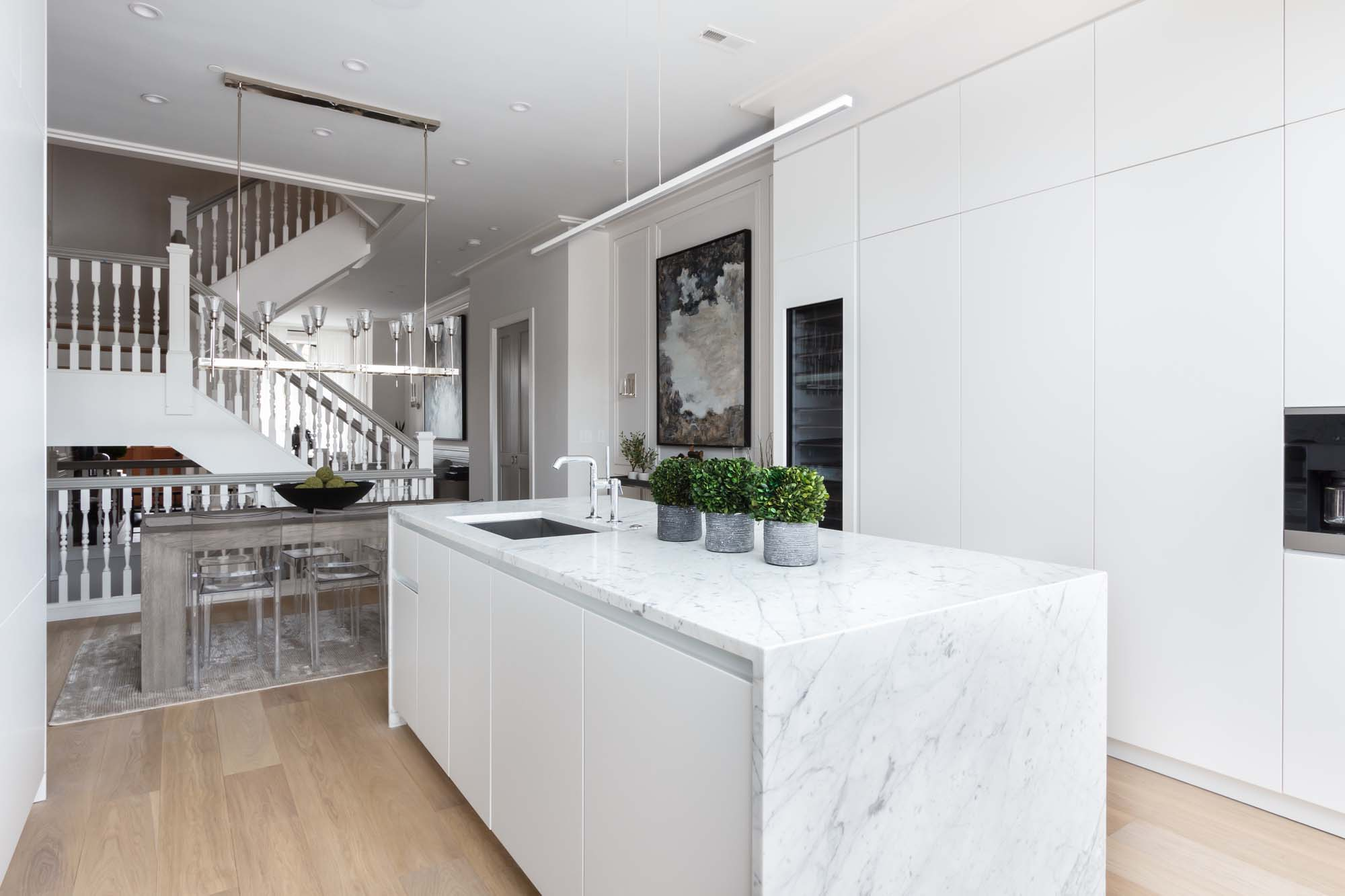 Five Exquisite Townhomes with a Twist Debut on Capitol Hill