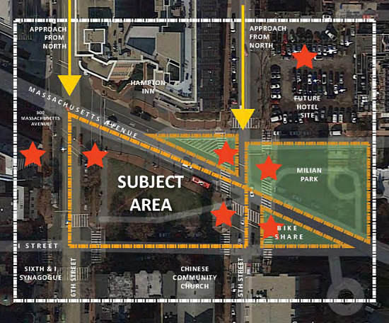 A Downtown Woonerf? A New Green Space Gateway for Chinatown: Figure 1