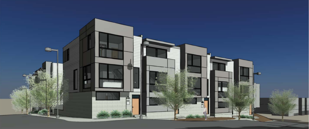 15 Workforce Housing Rowhomes Proposed for Marshall Heights: Figure 2
