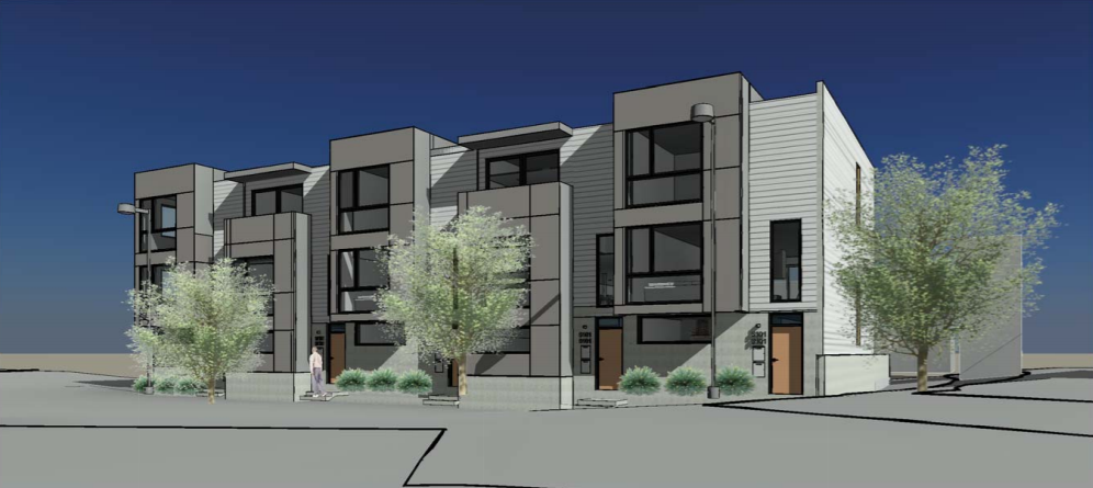 15 Workforce Housing Rowhomes Proposed for Marshall Heights: Figure 1