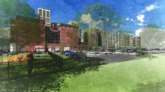Two Towers with 340 Units: JBG Smith's Plans for Pen Place: Figure 4