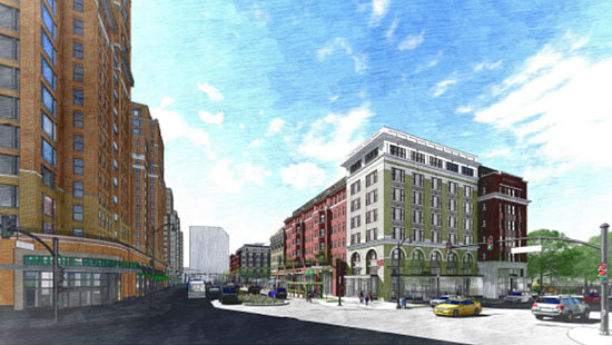 Two Towers with 340 Units: JBG Smith's Plans for Pen Place: Figure 3