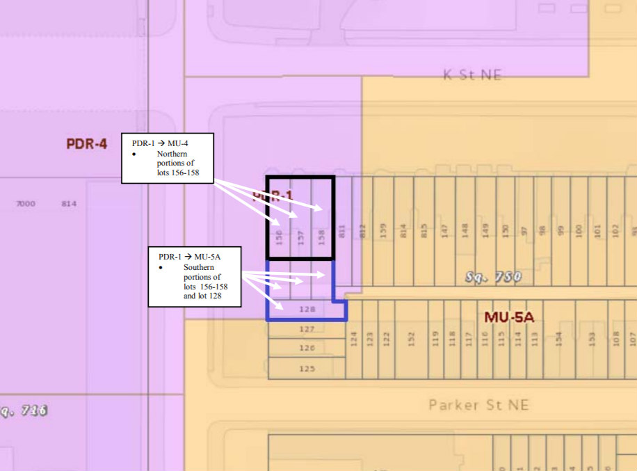 How a Map Amendment Could Bring Mixed-Use Development to Site of NoMa Rowhouses: Figure 2