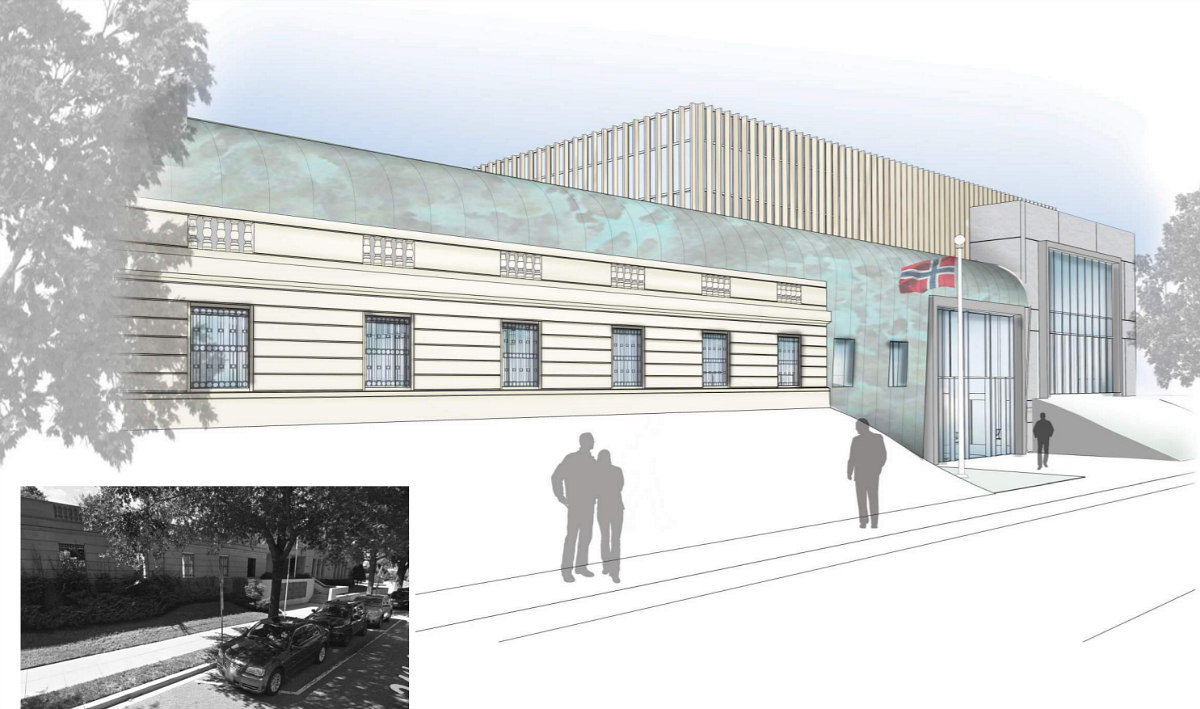 A New Look is Planned for the Norwegian Embassy: Figure 2