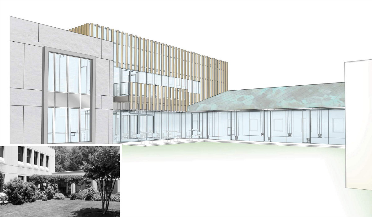 A New Look is Planned for the Norwegian Embassy: Figure 3