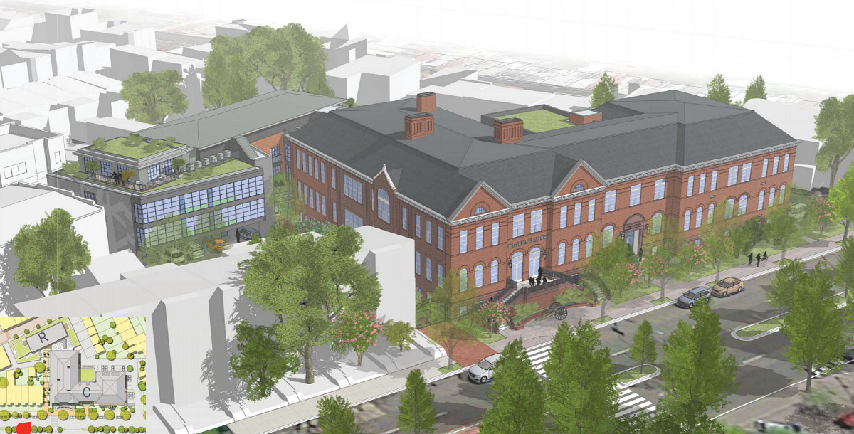 40 Apartments and a Museum Off U Street: The Grimke School Redevelopment Moves Ahead: Figure 1