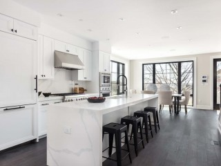 Just North of U Street, Two Expansive Luxury Townhomes on a Hill