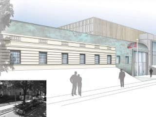 A New Look is Planned for the Norwegian Embassy