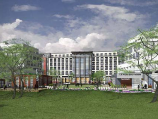 Outdoor Dining and a Mogul Park: The Plans For the Green Spaces at Walter Reed