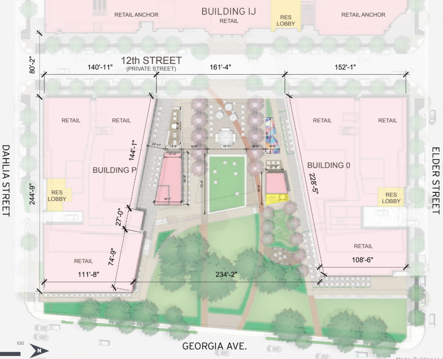 Outdoor Dining and a Mogul Park: The Plans For the Green Spaces at Walter Reed: Figure 2