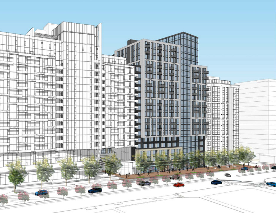 A New Look for One of the Largest Residential Projects in Bethesda: Figure 1