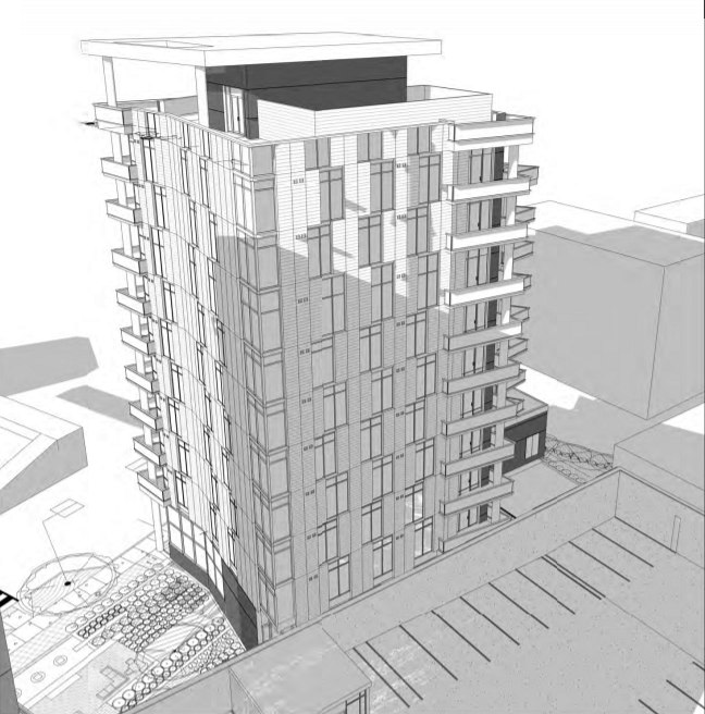 64 Apartments and 160 Hotel Rooms: The Proposed Best Western Redevelopment in Arlington: Figure 3