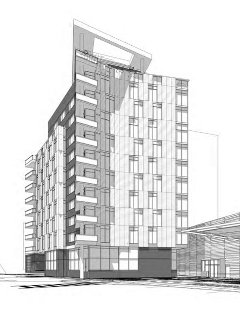 64 Apartments and 160 Hotel Rooms: The Proposed Best Western Redevelopment in Arlington: Figure 4
