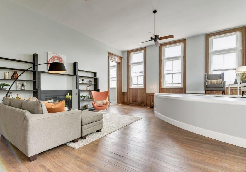 This Week's Find: One of DC's True Lofts Hits the Market: Figure 2