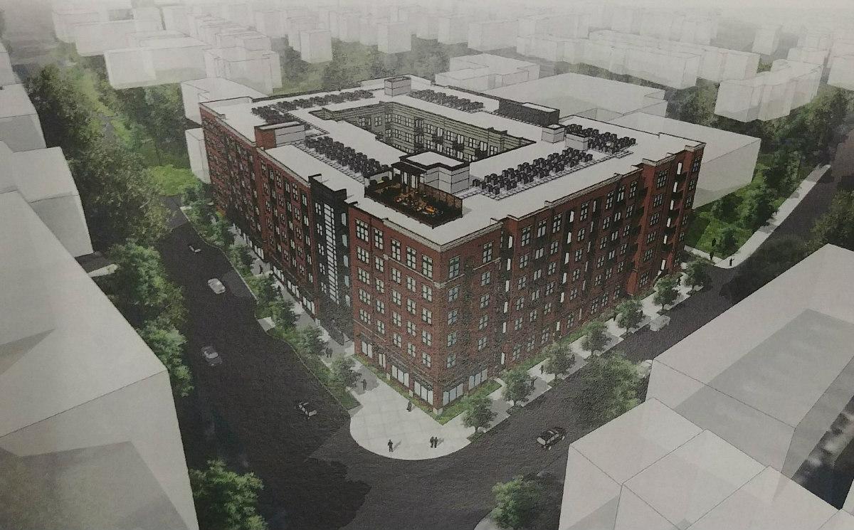 247 Apartments and a Dog Spa: The Plans For Arlington's Washington Boulevard: Figure 2