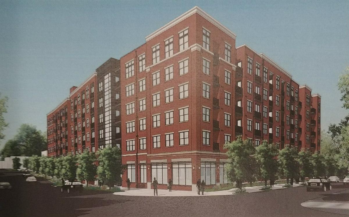 247 Apartments and a Dog Spa: The Plans For Arlington's Washington Boulevard: Figure 1