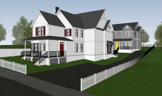 Move Over ADUs: An Additional Single-Family Home Proposed for Langdon Lot: Figure 1