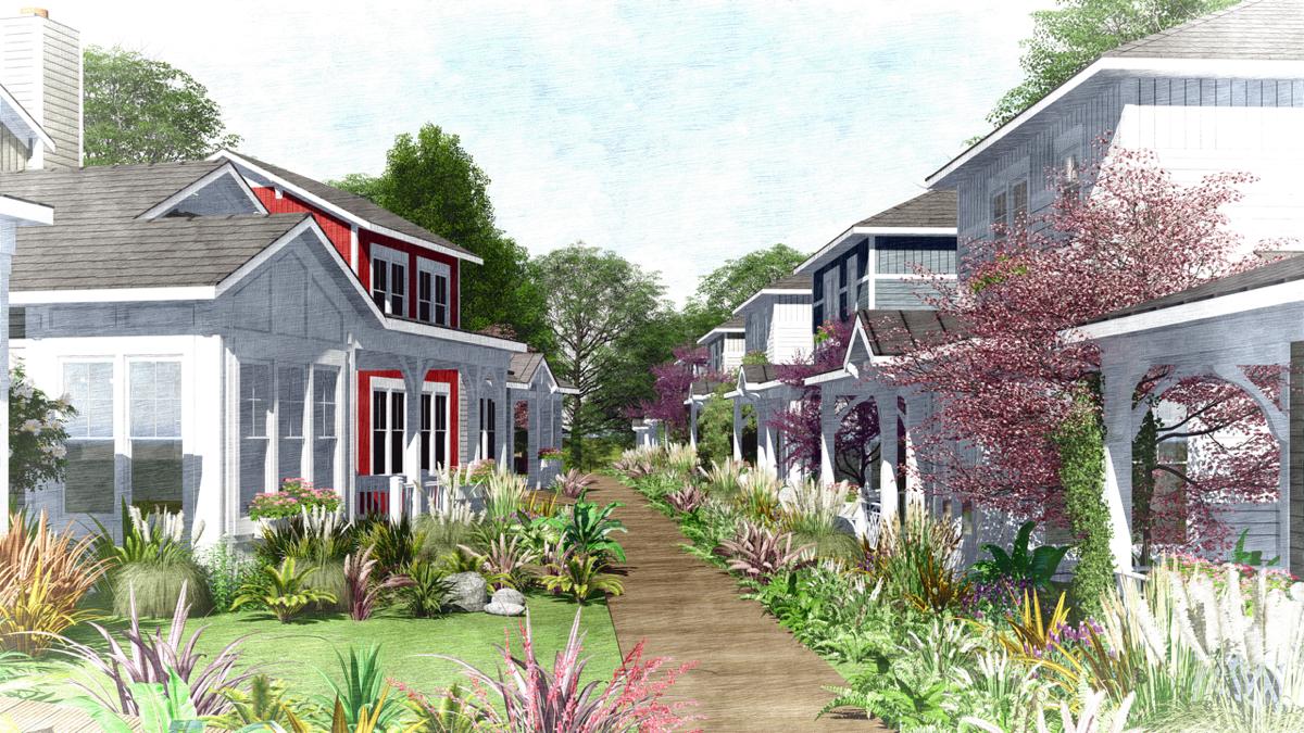 The Railroad Cottages Bring Back the Pocket Neighborhood: Figure 2