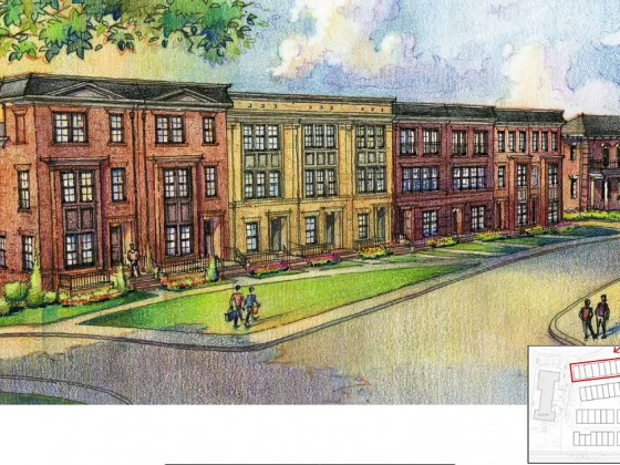 A Look at the 58 Townhouses Planned for Walter Reed