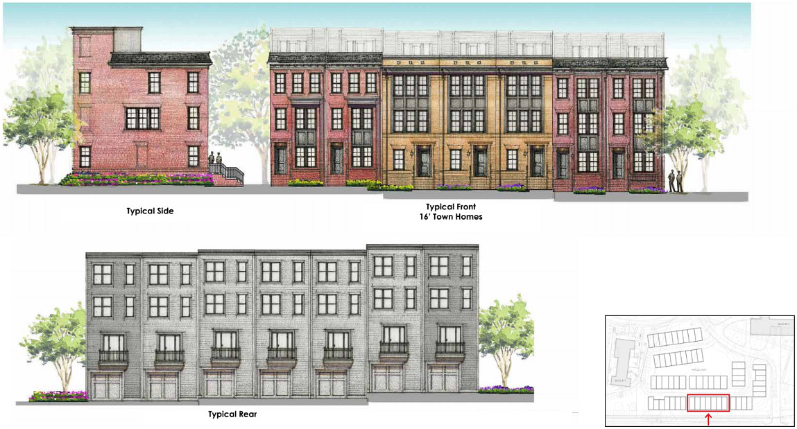 A Look at the 58 Townhouses Planned for Walter Reed: Figure 3