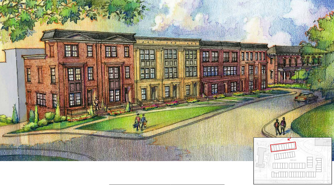 A Look at the 58 Townhouses Planned for Walter Reed: Figure 2
