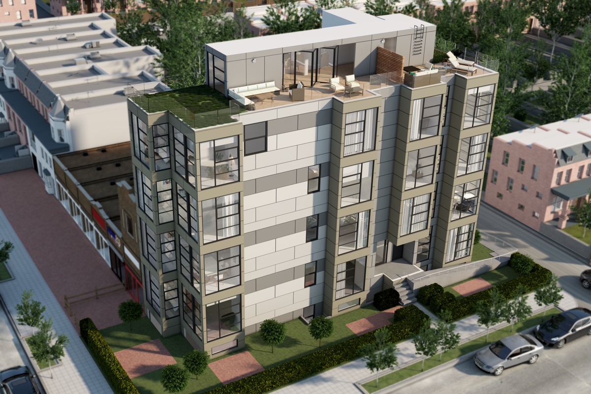 Nine Condos from the $300s Debut on a Prime Columbia Heights Corner: Figure 1