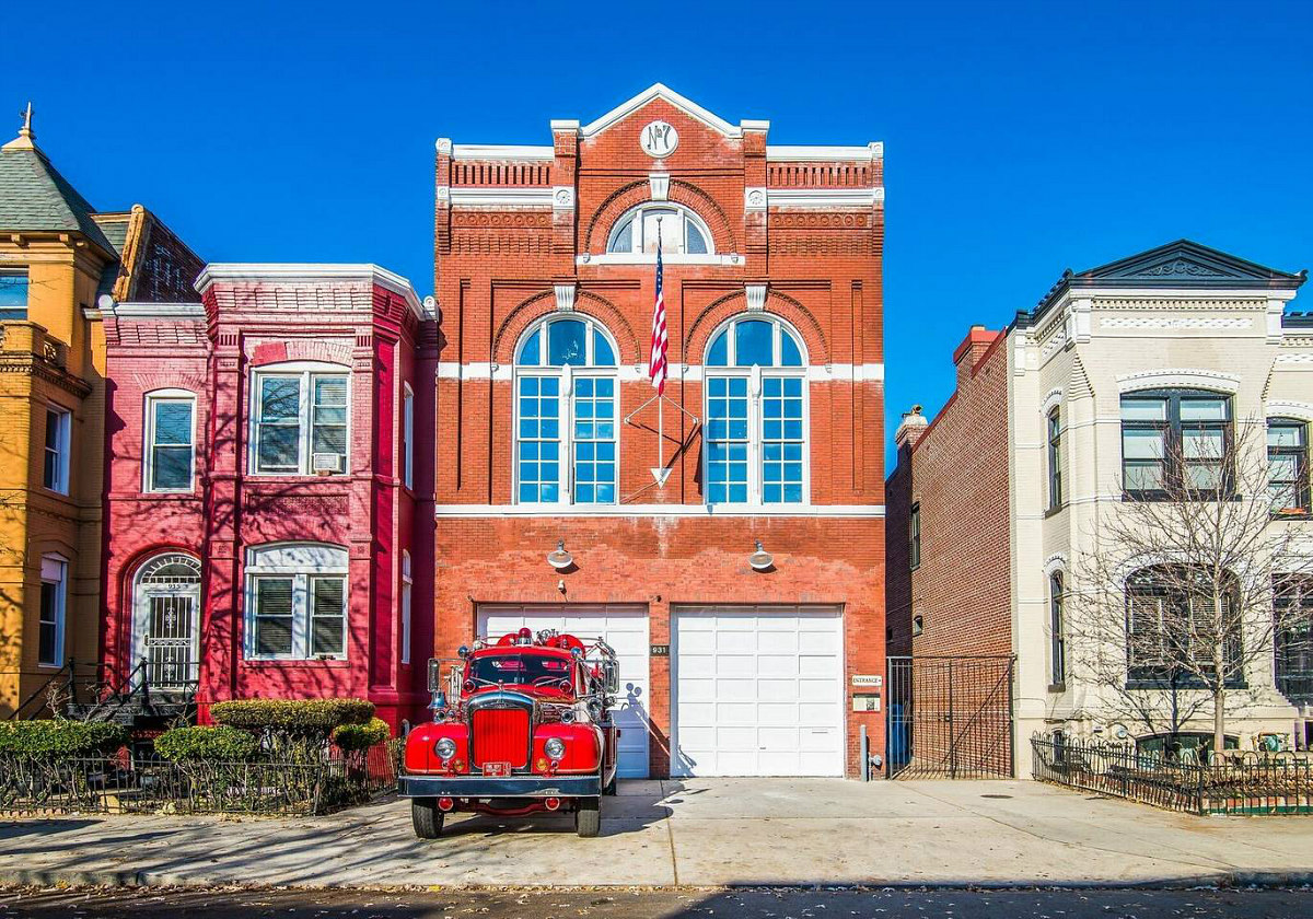 A Netflix Renovation: DC Firehouse Turned Home Gets a Made-for-TV Makeover: Figure 1