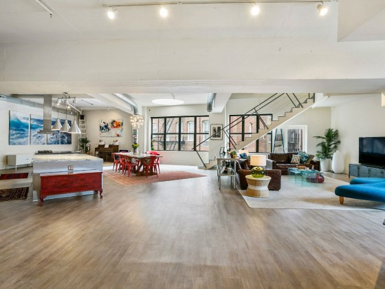 Best New Listings: A 4,400 Square Foot Loft in a Former Car Dealership