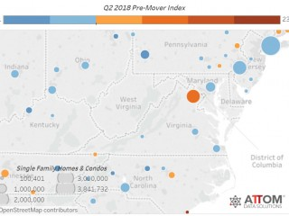 How Many People Are on the Move in the DC Area?