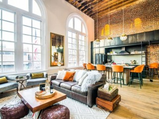 A Netflix Renovation: DC Firehouse Turned Home Gets a Made-for-TV Makeover
