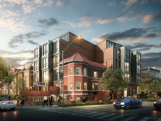 The Red Rocks Residences: 26 Apartments Proposed Around Columbia Heights Pizzeria