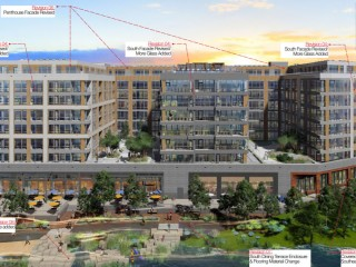 More Glass, More Rocks and a Refined Restaurant Terrace for Buzzard Point Coast Guard Redevelopment